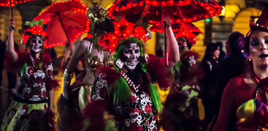 Day of the Dead carnival costumes