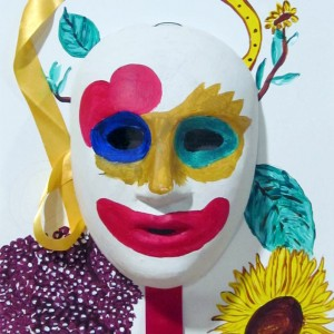Decorated mask