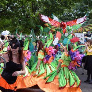 City Arts & Can Samba at Nottingham Carnival