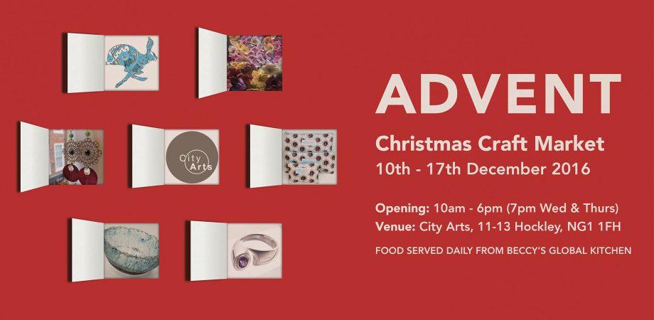 ADVENT Christmas Craft Market, 10th - 17th December`2016