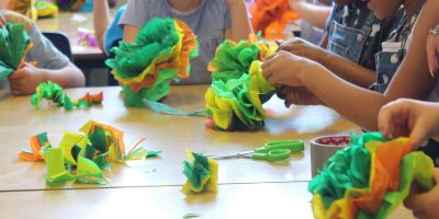 Carnival workshop at Cantrell Primary School