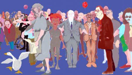 Illustration of Goose Fair