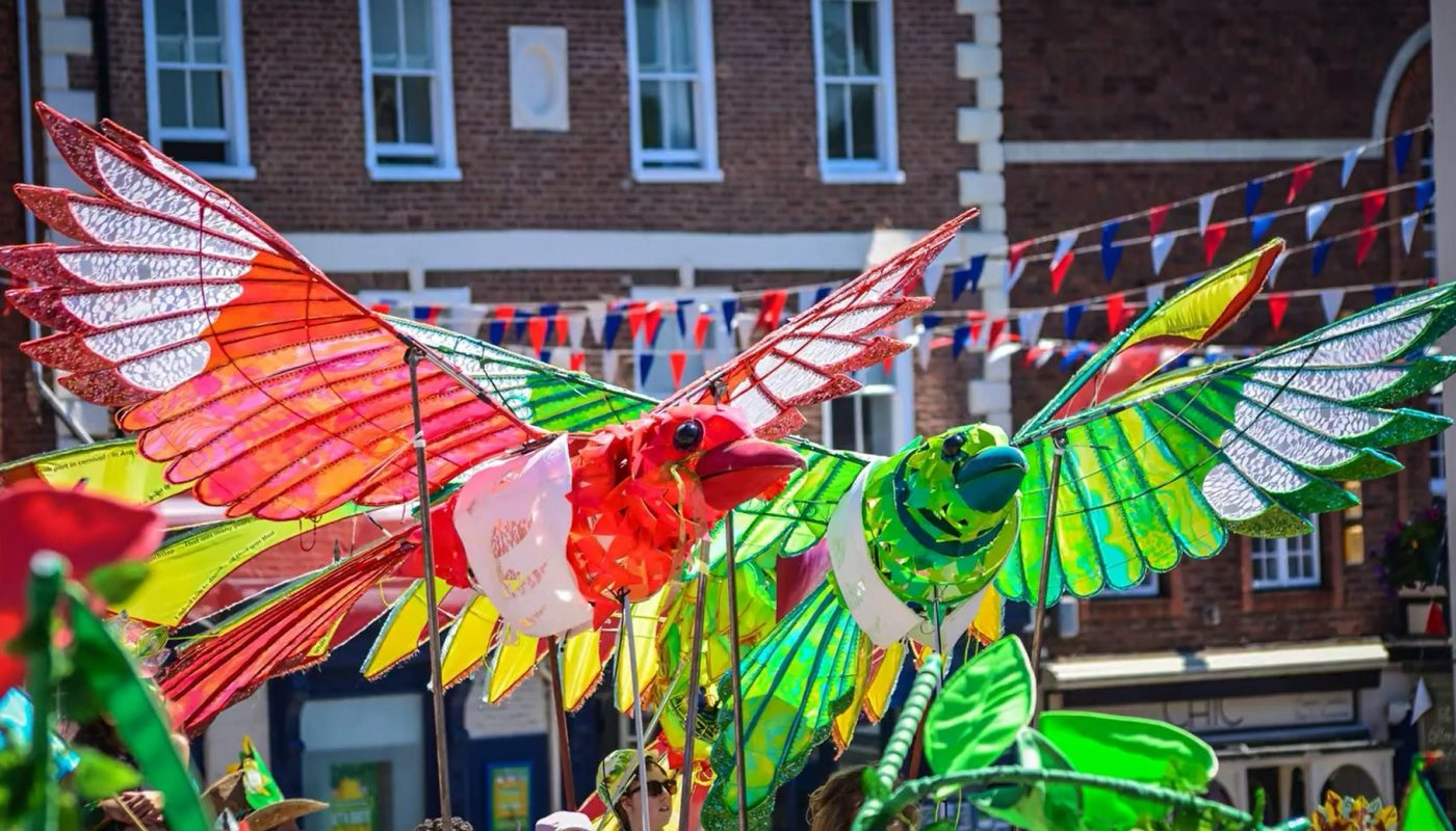Magpie Puppets at Ashbourne Festival