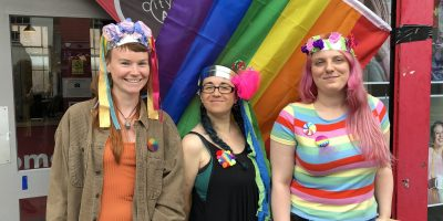 City Arts' Young Producers group at Nottinghamshire Pride 2019