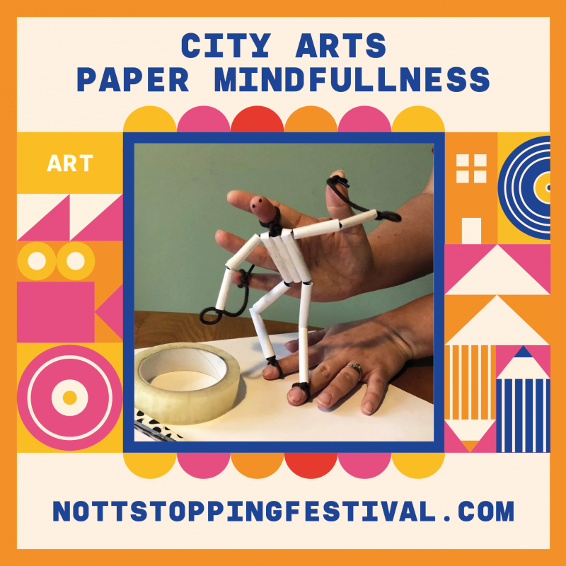 City arts - Paper Mindfulness