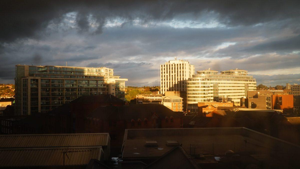 A view across Nottingham