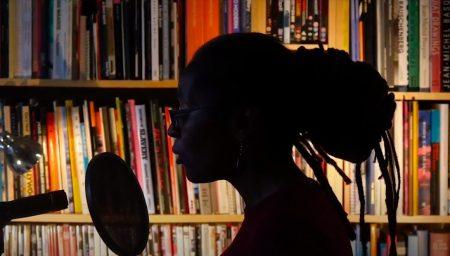 Panya Banjoko in profile/silhouette
