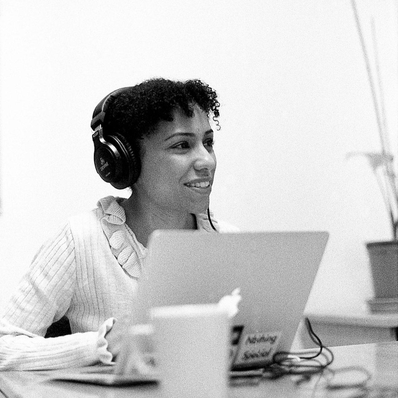 Podcast host Rachel Willcocks.