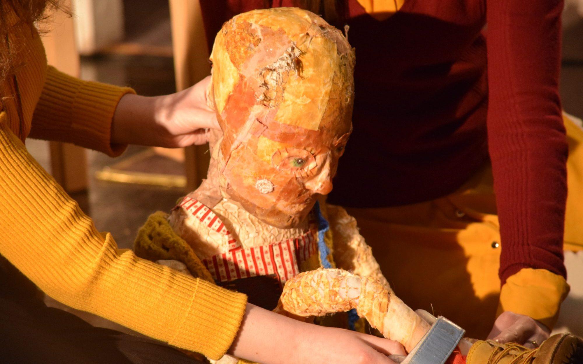 Patchwork puppet